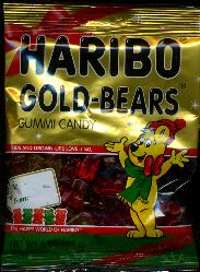 Haribo Gold-Bears Holiday Edition Gummi Candy -- 113g